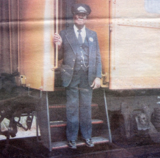 Ralph Dupree was a railroad porter for 60 years.