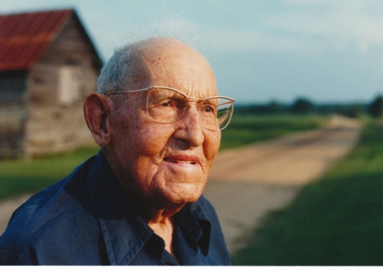 ABIJAH B. BASS, a farmer who lived nearby in Noma, was a leader in the Esto Baptist Church for decades.