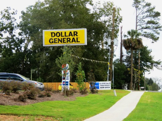 The new Dollar General store in on Highway 79 in the heart of Esto.